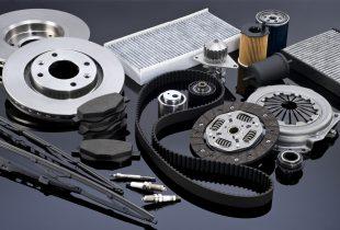 Selection of automotive parts.